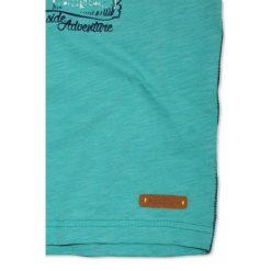 Nativo - T-shirt dziecięcy 104-164 cm. Niebieskie t-shirty męskie z nadrukiem marki Nativo, z bawełny. W wyprzedaży za 29,90 zł.