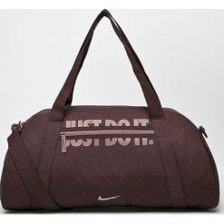 Nike - Torba. Szare torebki klasyczne damskie Nike, w paski, z materiału. Za 99,90 zł.