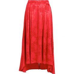 Gestuz SETTIA SKIRT Długa spódnica poinsettia. Czerwone długie spódnice Gestuz, z materiału. W wyprzedaży za 411,95 zł.