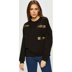 Silvian Heach - Bluza. Czarne bluzy rozpinane damskie Silvian Heach, l, z nadrukiem, z bawełny, bez kaptura. Za 219,90 zł.