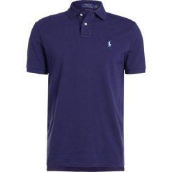 Polo Ralph Lauren CUSTOM SLIM FIT Koszulka polo newport navy. Niebieskie koszulki polo Polo Ralph Lauren, m, z bawełny. Za 419,00 zł.