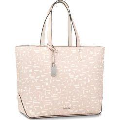 Shopper bag damskie: Torebka CALVIN KLEIN BLACK LABEL – Edit Large Shopper P K60K604071 910