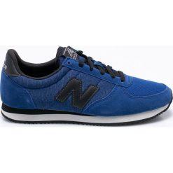 New Balance - Buty U220TA. Niebieskie halówki męskie marki New Balance, z materiału, na sznurówki. W wyprzedaży za 259,90 zł.
