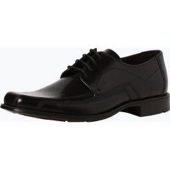Lloyd - Męskie buty sznurowane ze skóry – Dagan, czarny. Czarne buty wizytowe męskie Lloyd, ze skóry, na sznurówki. Za 449,95 zł.