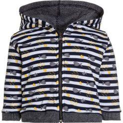 Swetry chłopięce: Absorba CARDIGAN PIED DANS LEAU BABY Kardigan marine