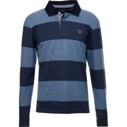GANT THE ORIGINAL BARSTRIPE HEAVY RUGGER Koszulka polo denim blue melange. Niebieskie koszulki polo marki Tiffosi. Za 419,00 zł.