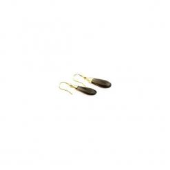 Kolczyki Kwarc Dymny złoto. Szare kolczyki damskie Brazi druse jewelry, z kwarcem, pozłacane. Za 170,00 zł.