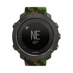 Suunto Zegarek męski Traverse Aplha Woodland czarno-zielony (SS023445000). Czarne zegarki męskie Suunto. Za 1499,00 zł.