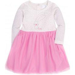 Sukienki niemowlęce: Sukienka z tiulowym dołem i brokatem dla dziecka 2-4 lata