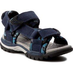 Sandały męskie: Sandały GEOX - J Borealis B. E J720RE 02215 C4002 Morski