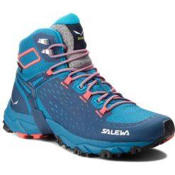 Trekkingi SALEWA - Alpenrose Ultra Mid Gtx GORE-TEX 64417-8363  Blue Sapphire/Fluo Coral. Niebieskie buty trekkingowe damskie Salewa. W wyprzedaży za 719,00 zł.