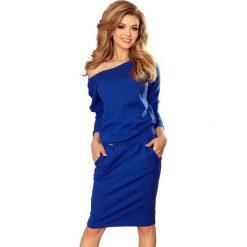 Chabrowa Casualowa Sukienka Dresowa z Dekoltem na Plecach. Szare sukienki dresowe marki Sinsay, l, z dekoltem na plecach. Za 128,90 zł.