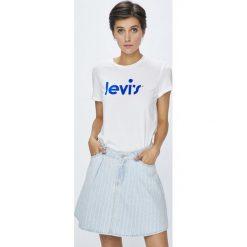 Levi's - Top. Brązowe topy damskie marki Levi's®, z obniżonym stanem. Za 119,90 zł.