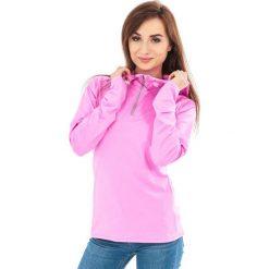 Bluzy rozpinane damskie: 4f Bluza damska z kapturem T4Z16-BLDF001 różowa r. M