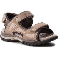 Sandały GEOX - J Borealis B. B J720RB 000BC C5004 Piasek. Brązowe sandały męskie skórzane Geox. W wyprzedaży za 249,00 zł.