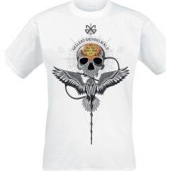 Fantastic Beasts Grindelwalds Verbrechen - Gellert Skull T-Shirt biały. Białe t-shirty męskie z nadrukiem Fantastic Beasts, xxl, z okrągłym kołnierzem. Za 74,90 zł.