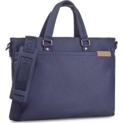 Torba na laptopa WITTCHEN - 85-3P-503-7 Granatowy. Niebieskie plecaki męskie Wittchen. W wyprzedaży za 219,00 zł.