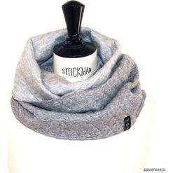 Szaliki męskie: komin / cotton gray