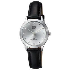Zegarek Q&Q Damski  QZ05-301 Klasyczny Cyrkonie. Szare zegarki damskie Q&Q. Za 126,99 zł.