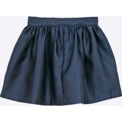 Tommy Hilfiger - Spódnica dziecięca 122-176 cm. Szare spódniczki dziewczęce TOMMY HILFIGER, z poliesteru, mini. W wyprzedaży za 269,90 zł.