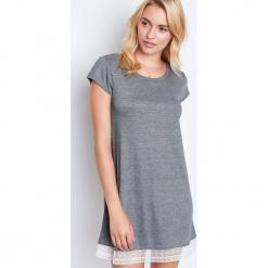 Etam - Koszulka piżamowa Warm Day. Szare koszule nocne i halki Etam, z poliesteru. Za 119,90 zł.