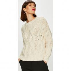 Only - Sweter. Szare swetry klasyczne damskie marki ONLY, s, z bawełny, casualowe, z okrągłym kołnierzem. Za 219,90 zł.