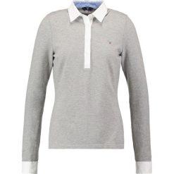 T-shirty damskie: GANT OXFORD Koszulka polo grey melange