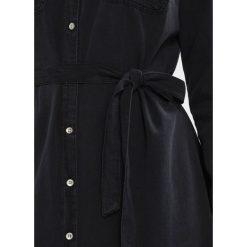 Sukienki hiszpanki: Springfield VESTIDO  Sukienka jeansowa black