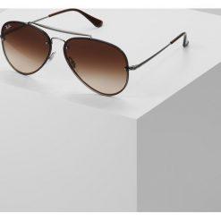 RayBan Okulary przeciwsłoneczne brown gradient dark brown. Brązowe okulary przeciwsłoneczne damskie aviatory Ray-Ban. Za 719,00 zł.