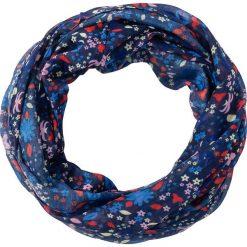 Szaliki damskie: Szal koło w kwiaty bonprix kobalowy - kolorowy