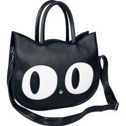 Banned Alternative Big Kitty Torebka - Handbag czarny. Czarne torebki klasyczne damskie Banned Alternative, z aplikacjami, z aplikacjami. Za 144,90 zł.