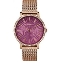 Zegarek Timex Damski Metropolitan 34 TW2R50500 Slim Rose Gold. Czerwone zegarki damskie Timex. Za 309,99 zł.