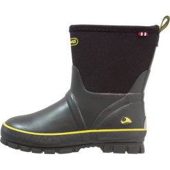 Viking SOLAN NEO UK Kalosze grey/yellow. Szare buty zimowe damskie Viking, z materiału. W wyprzedaży za 139,30 zł.