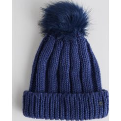 Czapka z pomponem - Granatowy. Niebieskie czapki zimowe damskie Sinsay. Za 24,99 zł.
