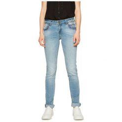Desigual Jeansy Damskie 26 Niebieskie. Niebieskie jeansy damskie marki Desigual. W wyprzedaży za 319,00 zł.