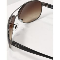 RayBan Okulary przeciwsłoneczne gunmetal/brown gradient. Szare okulary przeciwsłoneczne męskie aviatory Ray-Ban. Za 619,00 zł.