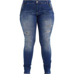 Boyfriendy damskie: Zizzi SANNA Jeans Skinny Fit blue denim