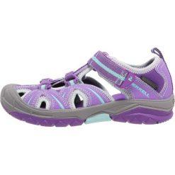 Merrell HYDRO HIKER Sandały trekkingowe violet. Fioletowe sandały chłopięce marki Merrell, z materiału. W wyprzedaży za 137,40 zł.