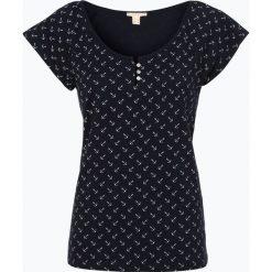 Esprit Casual - T-shirt damski, niebieski. Niebieskie t-shirty damskie Esprit Casual, l. Za 69,95 zł.