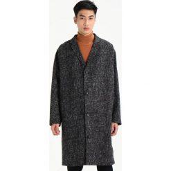 Topman PRINCE Płaszcz wełniany /Płaszcz klasyczny black. Czarne płaszcze wełniane męskie marki Topman, m, klasyczne. W wyprzedaży za 407,20 zł.