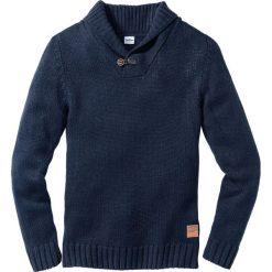 Swetry klasyczne męskie: Sweter Regular Fit bonprix ciemnoniebieski