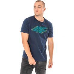 4f Koszulka męska granatowy r. M (H4Z17-TSM005). Niebieskie koszulki sportowe męskie 4f, m. Za 25,55 zł.