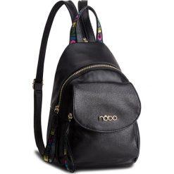 Plecak NOBO - NBAG-F0400-C020 Czarny. Czarne plecaki damskie marki Nobo, ze skóry ekologicznej, klasyczne. W wyprzedaży za 159,00 zł.