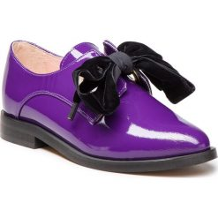 Oxfordy L37 - Blossom B14 Purple. Czarne jazzówki damskie marki L37, z materiału, retro. W wyprzedaży za 419,00 zł.