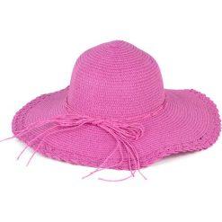 Kapelusz damski Zapleciony różowy (cz13020-6). Czerwone kapelusze damskie marki Art of Polo. Za 34,62 zł.