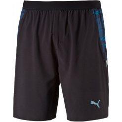 """Puma Spodenki Męskie Woven 7"""" Shorts Black/Graphic Insert Clo S. Czarne spodenki sportowe męskie Puma, sportowe. W wyprzedaży za 129,00 zł."""