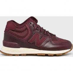 New Balance - Buty WH574BC. Brązowe buty sportowe damskie New Balance, z gumy. Za 449,90 zł.