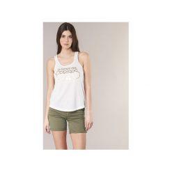 Topy na ramiączkach / T-shirty bez rękawów Le Temps des Cerises  DELORIP. Białe topy damskie Le Temps Des Cerises, l. Za 103,20 zł.