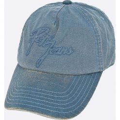 Pepe Jeans - Czapka Aperton. Szare czapki z daszkiem męskie Pepe Jeans, z bawełny. W wyprzedaży za 59,90 zł.