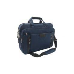 Torba na laptop notebook 15,6 GALO 698 niebieska. Niebieskie torby na laptopa marki GALO, w paski. Za 129,00 zł.